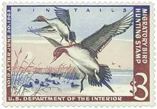 1962 $3.00 Pintail Drakes