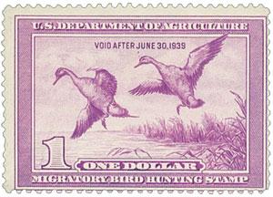 1938 $1.00 Pintail Drake
