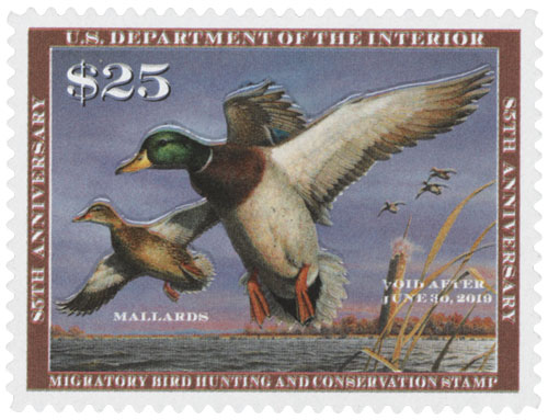 2018 $25 Mallards Hunting Permit