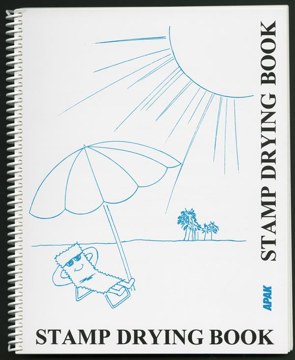APAK Advanced Stamp Drying Book, 8 3/4 x 11 1/2