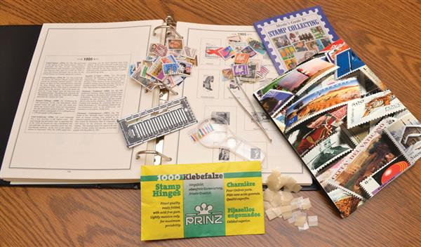 Mystic's Beginner Stamp Collecting Kit