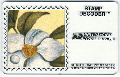Scrambled Indicia Stamp Decoder