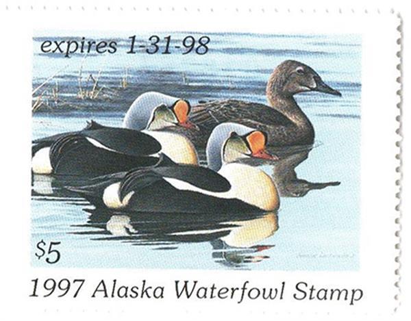 1997 Alaska State Duck Stamp