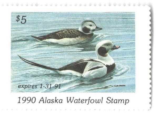 1990 Alaska State Duck Stamp