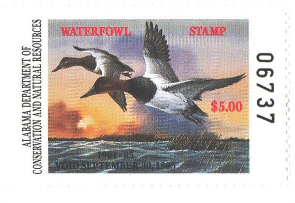1994 Alabama State Duck Stamp