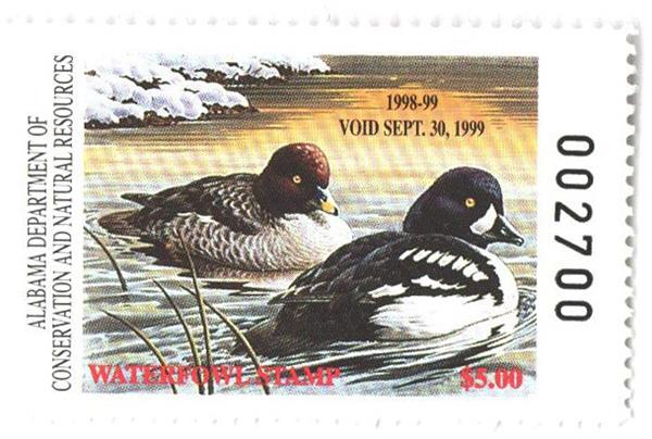 1998 Alabama State Duck Stamp