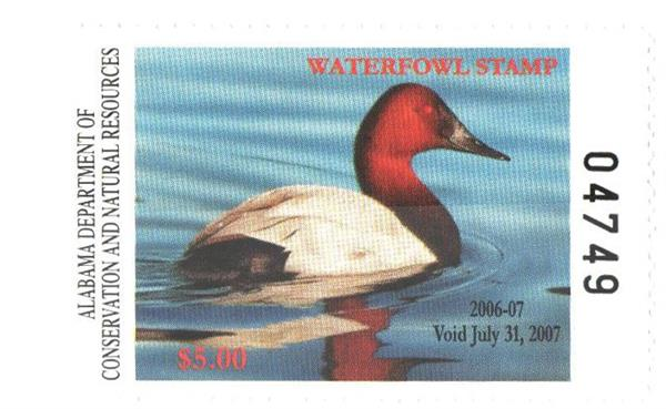 2006 Alabama State Duck Stamp