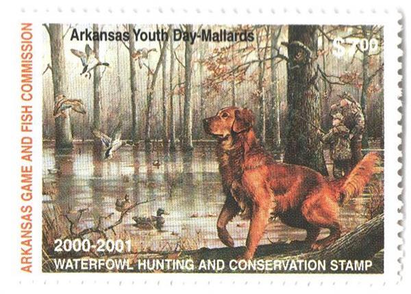2000 Arkansas State Duck Stamp