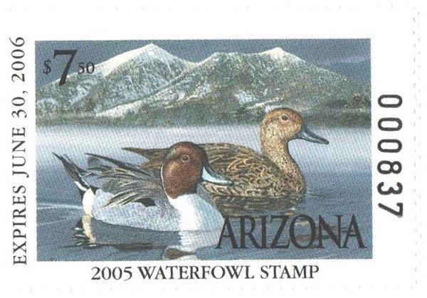 2005 Arizona State Duck Stamp