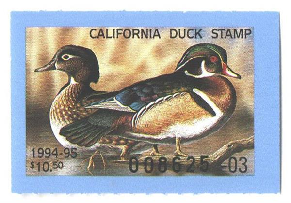1994 California State Duck Stamp