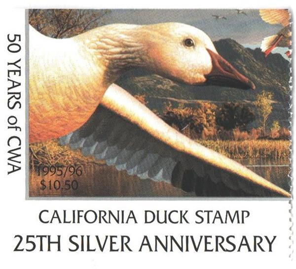 1995 California State Duck Stamp