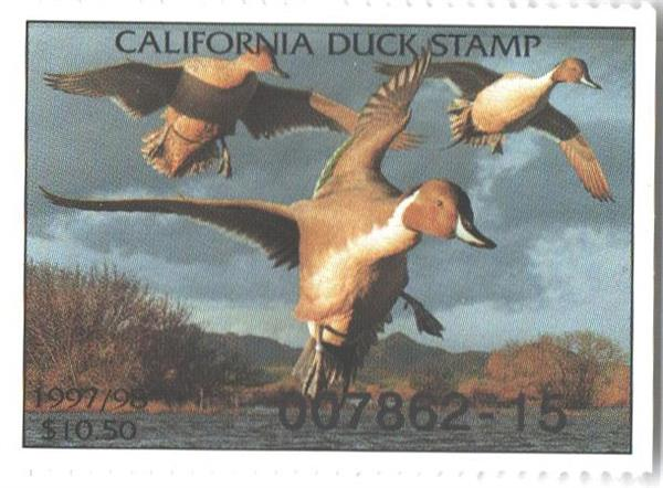 1997 California State Duck Stamp