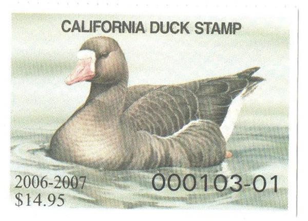 2006 California State Duck Stamp