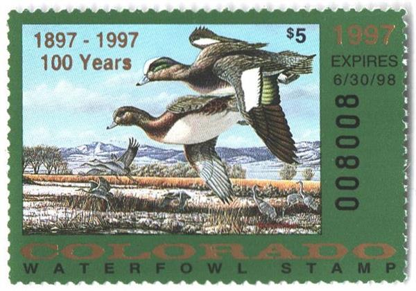 1997 Colorado State Duck Stamp