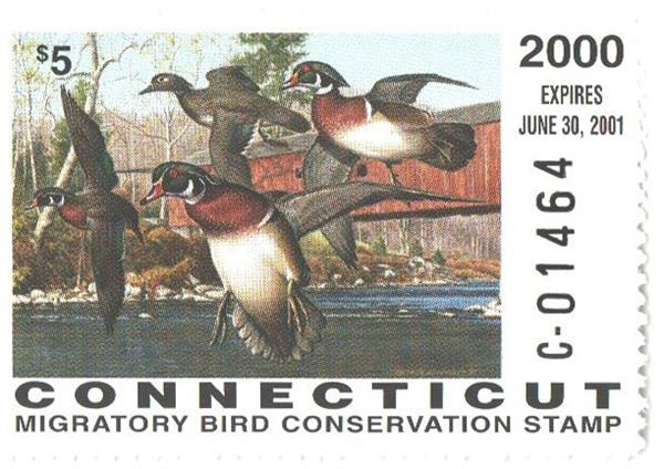 2000 Connecticut State Duck Stamp