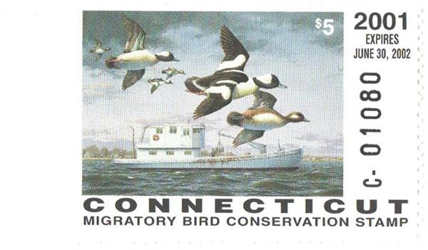 2001 Connecticut State Duck Stamp
