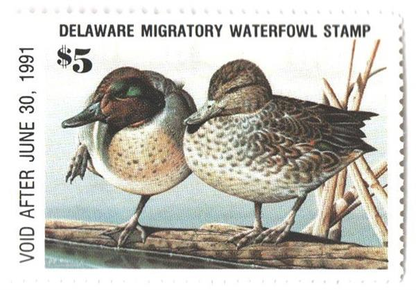 1990 Delaware State Duck Stamp