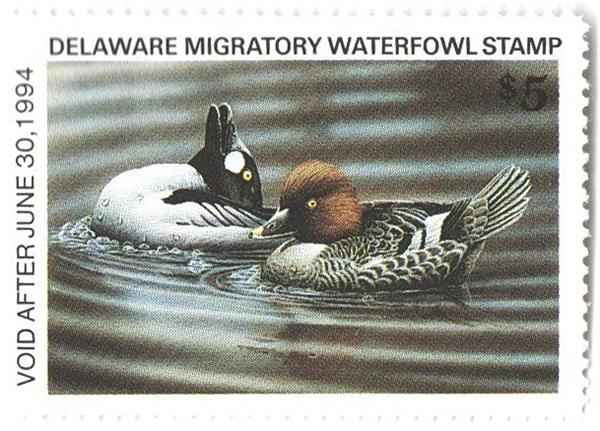 1993 Delaware State Duck Stamp