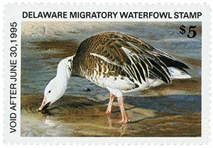 1994 Delaware State Duck Stamp