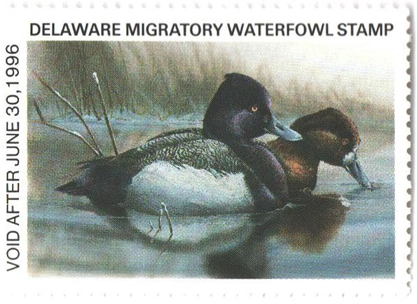 1995 Delaware State Duck Stamp