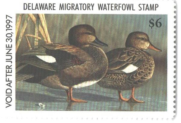 1996 Delaware State Duck Stamp
