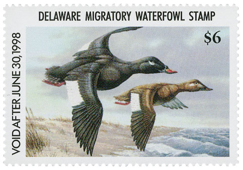 1997 Delaware State Duck Stamp