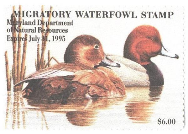 Maryland Duck Stamps Stamps for Sale at Mystic Stamp Company