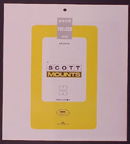"""Scott Mounts 159 x 259mm (6.26 x 10.2"""") $2.90 Priority/$9.95 Express Mail  4 pack"""