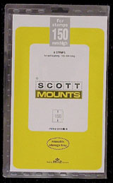 "Scott Mounts 165 x 150mm (6.5 x 5.91"") River Boat, Hanukkah  6 pack"