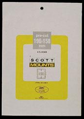 "Scott Mounts 196 x 158 MM (7.75 x 6.22"") Football Coaches  4-pack"