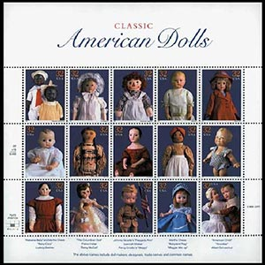 "Scott Mounts 184 x 184mm (7.24 x 7.24"") American Dolls  4 pack"