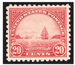 Scott Mount 25 x 22 mm (.98 x 87') US Horizontal Regular Issue  40 pack