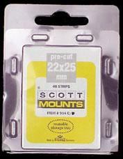 "Scott Mount 22 x 25 mm (.87 x .98 "") US Vertical Regular Issue  40 pack"