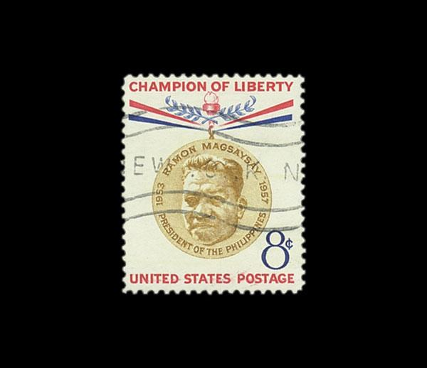 "Scott Mount 73 x 63mm  (2.87 x 2.48"") US Champions of Liberty  25 pack"