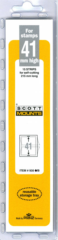 "Scott Mount 215 x 41mm (8.46 x 1.61"") US Semi-Jumbo  15 pack"