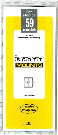 Scott Mount 265x59mm (10.43x2.32inches)