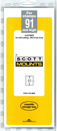 "Scott Mount 265 x 91mm ( 10.43 x 3.58"") Great Britain, Souvenir Sheet  10 pack"