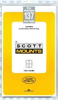 "Scott Mount 265 x 137mm (10.43 x 5.39"") Great Britain Coronation  Package of 10"