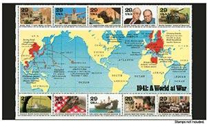 Scott Mount 229 131mm (9.02 x 5.16') World War II Commemorative Sheet  Package of 5
