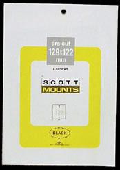 "Scott Mounts 129 x 122mm (5.08 x 4.8"") U.S. Definitive Mini-Sheet  Package of 8"