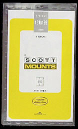 Scott Mounts 151 x 192mm (5.94 x 7.65') Olympic  5 pack