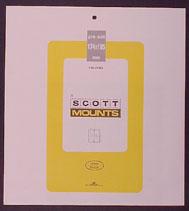 Scott Mounts 174 x 185mm (6.85 x 7.28') Buffalo Soldiers  5 pack