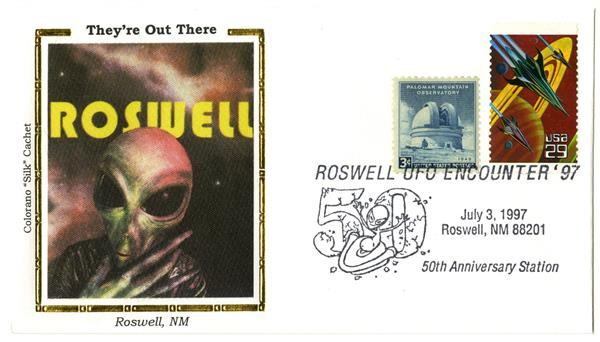 Roswell UFO Encounter 50th Anniversary