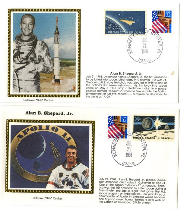 Alan B Shepard Jr Death 7/21/1998