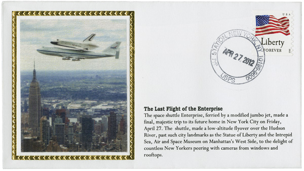 Shuttle Enterprise - Piggyback Ride to Intrepid