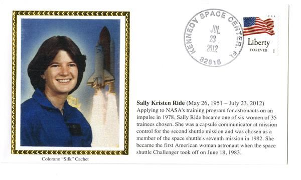 Sally Ride Memorial Cover
