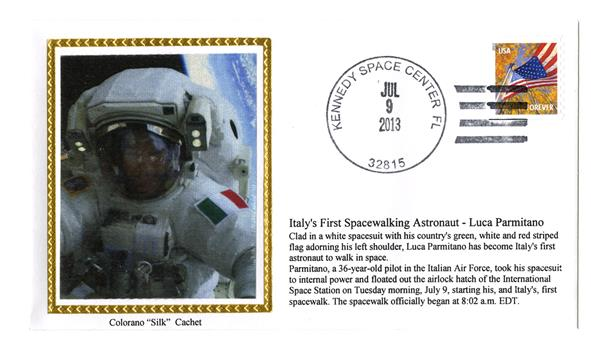 Italys First Spacewalking Astronaut Luca Parmitano