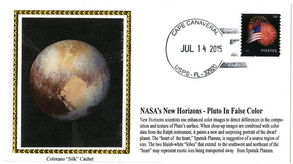 NASAs New Horizons - Pluto in False Color