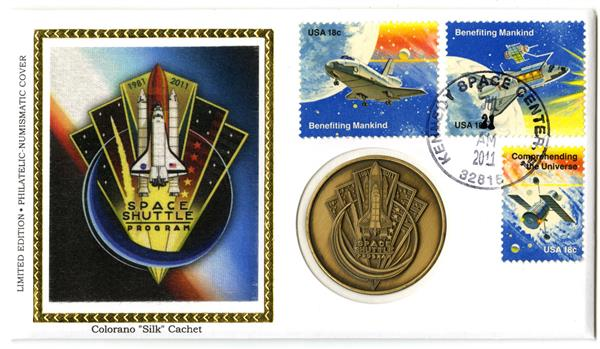 SS Program Commemorative Cover With Official Medal