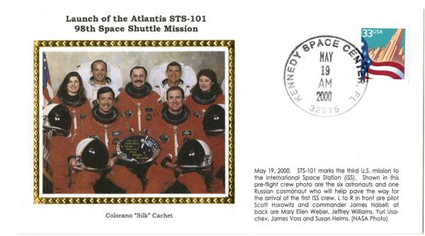 STS-101 Launch Cover